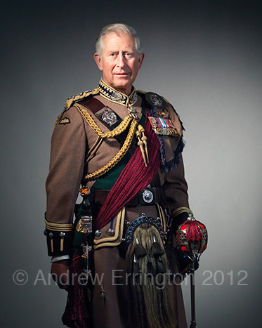 stunning portraits HRH Prince of Wales by Andrew Errington